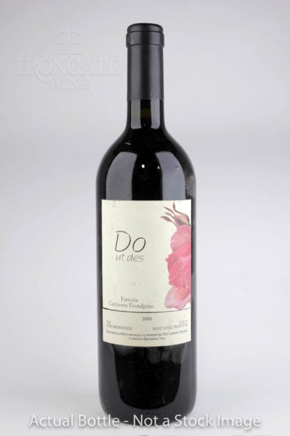2000 Carpineta Fontalpino Do Ut Des - 750 mL