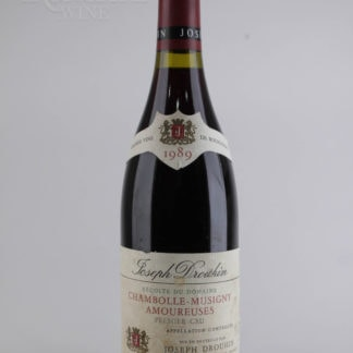 1989 Joseph Drouhin Chambolle Musigny Amoureuses (Torn Label) - 750 mL
