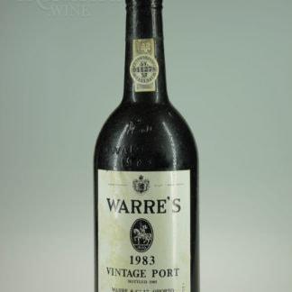 1983 Warre Vintage Port - 750 mL