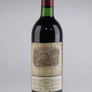 1983 Lafite Rothschild (Stained Label) - 750 mL