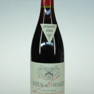 2008 Fonsalette Cotes Du Rhone - 750 mL