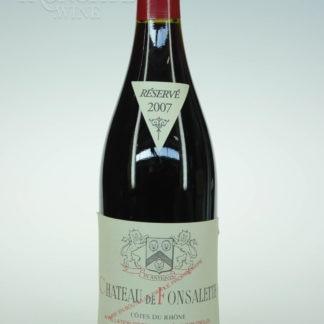 2007 Fonsalette Cotes Du Rhone - 750 mL