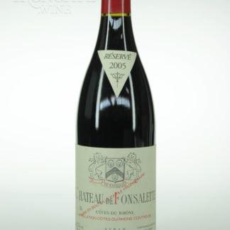 2005 Fonsalette Cotes Du Rhone Syrah - 750 mL