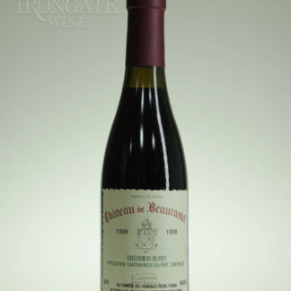 1998 Beaucastel Chateauneuf Du Pape - 375 mL
