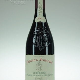 2001 Beaucastel Chateauneuf Du Pape - 750 mL