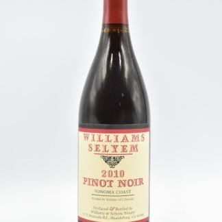 2010 Williams Selyem Pinot Noir Sonoma Coast - 750 mL