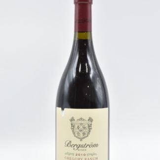 2010 Bergstrom Pinot Noir Gregory Ranch - 750 mL