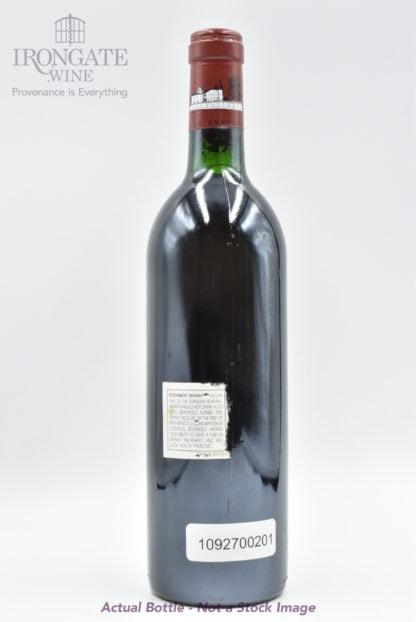 1988 Lafite Rothschild - 750 mL
