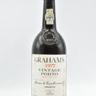 1977 Graham Vintage Port (Lightly Stained Label) - 750 mL