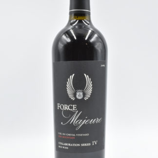 2009 Force Majeure Ciel Cheval Collaboration Series IV - 750 mL