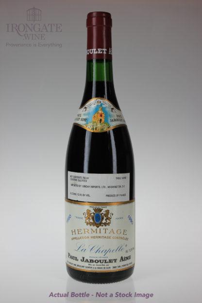 1990 Paul Jaboulet Aine Hermitage Chapelle - 750 mL