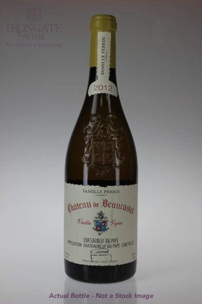 2012 Beaucastel Chateauneuf du Pape Roussanne Vv - 750 mL