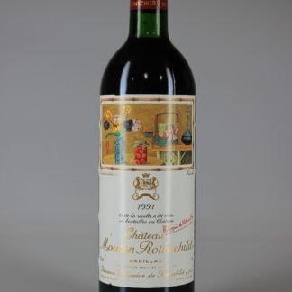 1991 Mouton Rothschild - 750 mL