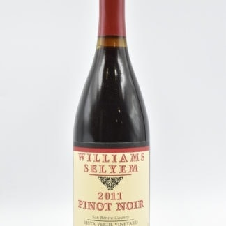 2011 William Selyem Pinot Noir Vista Verde - 750 mL