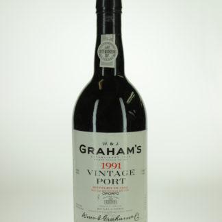 1991 Graham Vintage Port - 750 mL