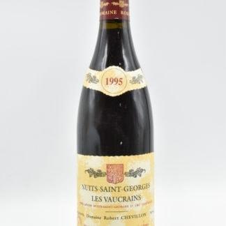 1995 Robert Chevillon Nuits Saint Georges Vaucrains - 750 mL
