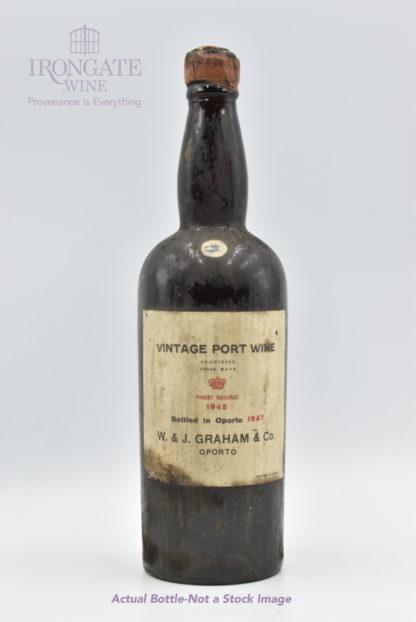 1945 Graham Vintage Port - 750 mL