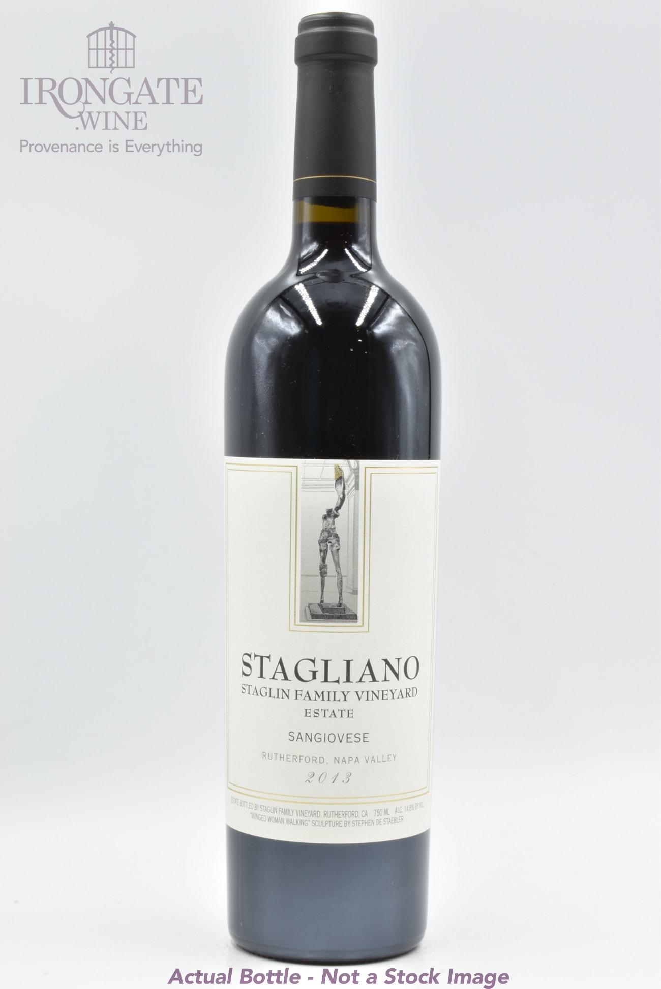 2013 Staglin Stagliano Sangiovese - 750ml - Buy Online - IronGate.Wine