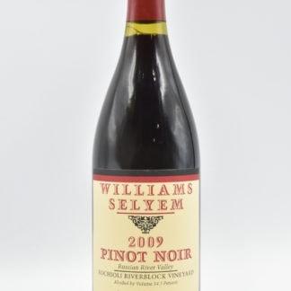 2009 Williams Selyem Rochioli Riverblock Pinot Noir - 750ml