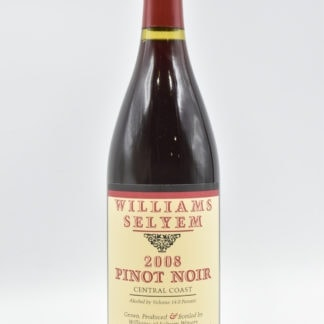 2008 Williams Selyem Pinot Noir Central Coast - 750ml