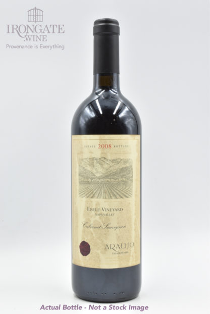 2008 Araujo Eisele Cabernet Sauvignon (Label condition) - 750ml