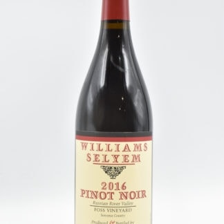 2016 William Selyem Foss Pinot Noir - 750ml