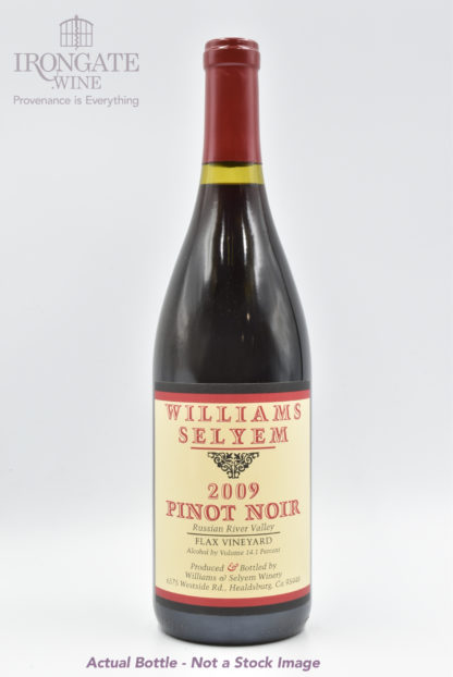 2009 Williams Selyem Flax Pinot Noir - 750ml