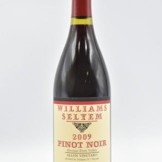 2009 Williams Selyem Allen Pinot Noir - 750ml