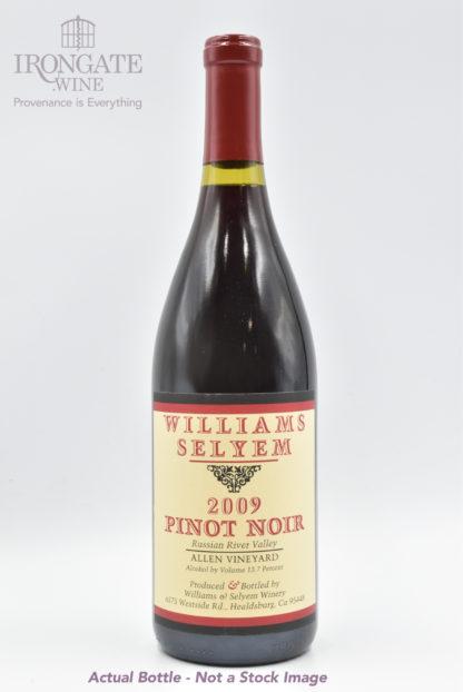 2009 Williams Selyem Allen Pinot Noir - 750ml