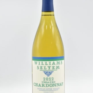 2012 Williams Selyem Chardonnay Unoaked - 750ml
