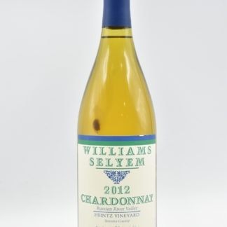 2012 Williams Selyem Chardonnay Heintz - 750ml