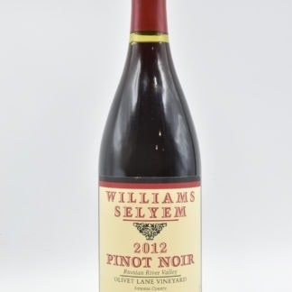 2012 William Selyem Pinot Noir Olivet Lane - 750ml