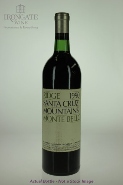 1990 Ridge Santa Cruz Mountains - 750 mL