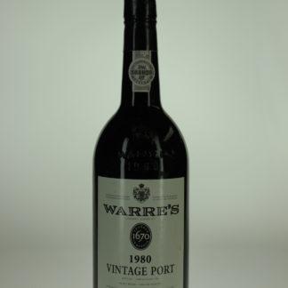 1980 Warre Vintage Port - 750 mL