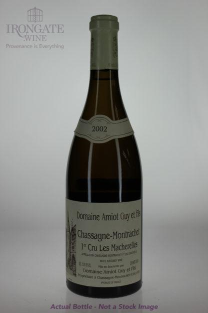 2002 Guy Amiot Chassagne Montrachet Macherelles Blanc - 750 mL