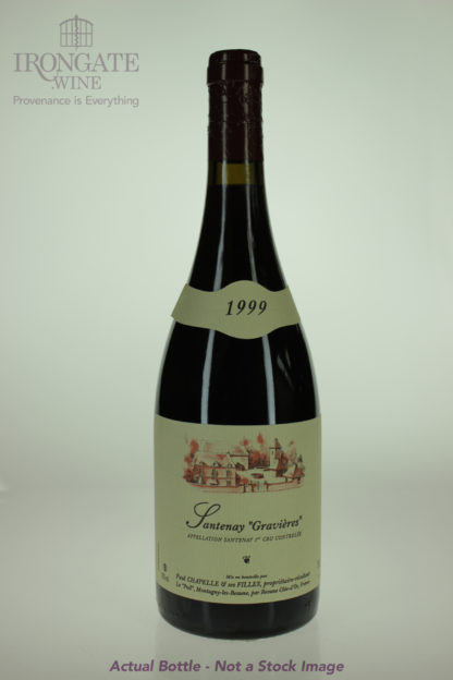 1999 Paul Chapelle Santenay Gravieres Rouge - 750 mL