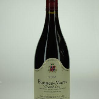 2003 Robert Groffier (Pere et Fils) Bonnes Mares - 750 mL