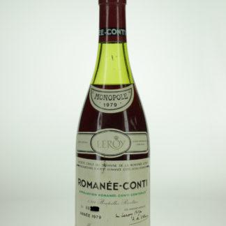 1979 DRC Romanee Conti - 750 mL