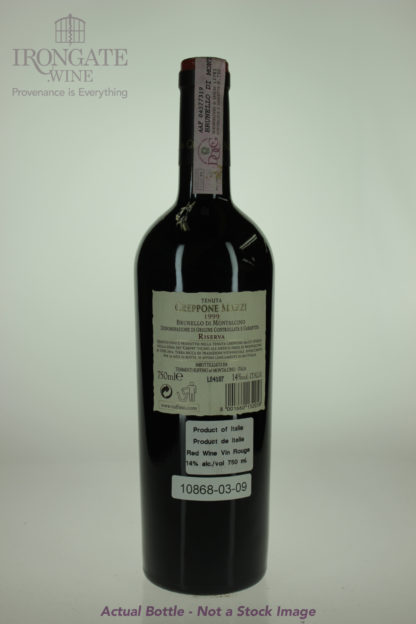 1999 Ruffino Brunello Montalcino Greppone Mazzi Riserva - 750