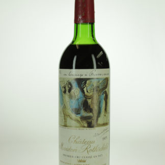1973 Mouton Rothschild - 750 mL