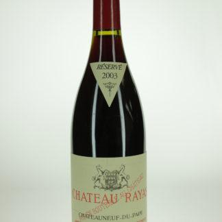 2003 Rayas Chateauneuf Du Pape Reserve - 750 mL