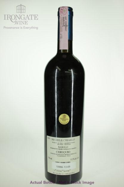 1997 Michele Chiarlo Barolo Cerequio - 750 mL