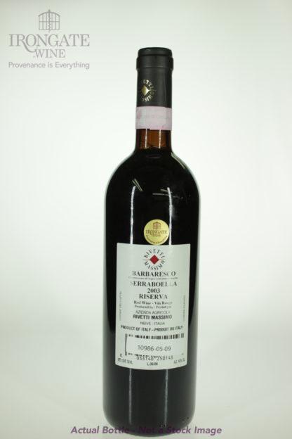 2003 Rivetti Massimo Barbaresco Serraboella Riserva - 750 mL