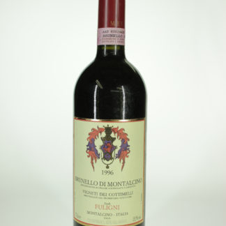 1996 Fuligni Brunello Montalcino Cottimelli - 750 mL