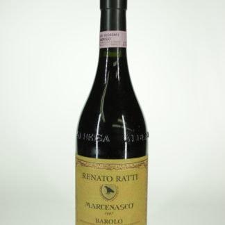 1997 Renato Ratti Barolo Marcenasco - 750 mL