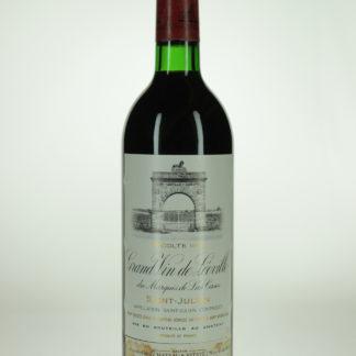 1984 Leoville Las Cases Label Condtion - 750 mL