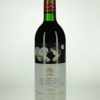 1986 Mouton Rothschild VTS - 750 mL