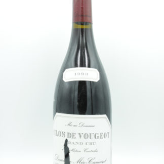 1993 Meo Camuzet Clos Vougeot (Torn Label) - 750 mL