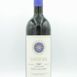 1987 Sassicaia - 750 mL