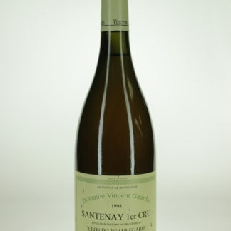 1998 Vincent Girardin Santenay Beauregard Blanc - 750 mL